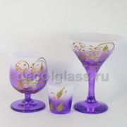 Мартини+бренди+стопка (фиолетовый)