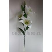 Лилия белая 80 см