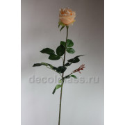 роза розовая 80 см