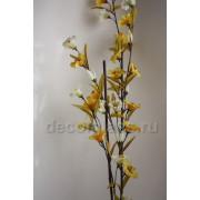 Петуния ветка жёлтая 140 см