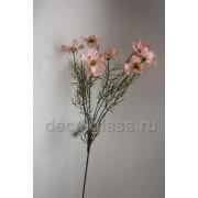 Космея букет розовый 62 см