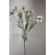 Космея букет белый 62 см