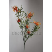 Репейник ветка оранжевая 63 см