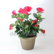 Розалия кашпо красное 27 см