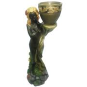 Девушка с кашпо - 2.07 фигура садовая (82см)
