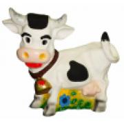 Корова малая 16.03 - фигура садовая (35*45см)